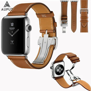 Leder Armband Single Tour Für Apple Watch Series 6/SE/5/4/3/2/1 38/42/40/44mm