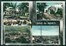Catania Mineo Saluti da Foto FG cartolina QT5815