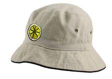 The Original Stone Roses 'Reni' Embroidered Lemon Bucket Hat