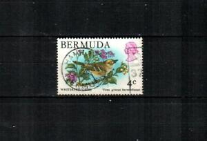 BERMUDA Scott's 364 ( 1v ) White-Eyed Vireo F/VF Used ( 1978 )