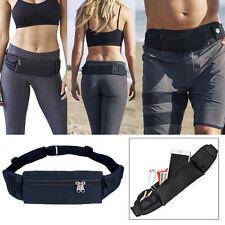 Waterproof Sports Fanny Pack Zip Waist Bag Belt Pouch Wallet for iPhone Samsung
