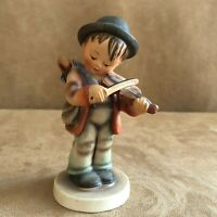Little Fiddler Hummel Goebel Figurine 4 boy vintage full bee West Germany Violin