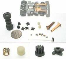 21pc+ 1991 TYCO TCR HO Slot Car Chassis Tune Up Parts