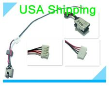 Original DC power jack charging port cable for LENOVO IDEAPAD G470 G475 SERIES