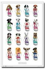 KEITH KIMBERLIN PUPPIES IN SHOES POSTER PRINT 22x34 FAST FREE SHIPPING
