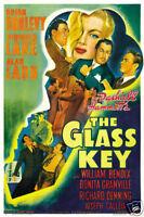 The glass key Veronica Lake Movie poster print