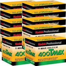 10 Rolls Kodak T-MAX 400 TMY-36 B&W Negative 35mm FRESH FILM