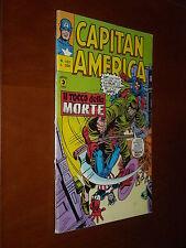 CAPITAN AMERICA 1a Serie no.127 - QS/EDICOLA ORIGINALE - Ed. CORNO 1978