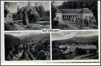 Bad Wildungen Hessen Mehrbildkarte 1930/40 Badehotel Helenental Hotel Fürstenhof