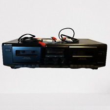 Sony Tc-We305 Dual Cassette Tape Deck Recorder High Speed Dub Double Player