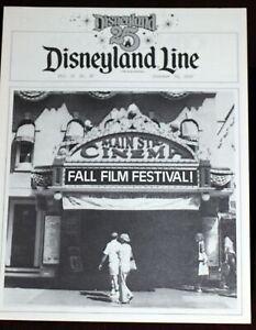 Disneyland 1980 Main St Cinema Cover CIRCLE D CORRAL Mine Train Rainbow Ridge