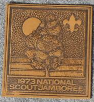 1973 National Scout Jamboree Leather - Boy Scout/BSA