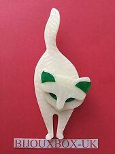 LEA STEIN BACCHUS CAT BROOCH. Free post worldwide.