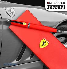 Sheaffer Ferrari 500 Series Rosso Corsa Ballpoint Pen Gloss Red FE2950451 F9504