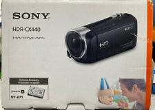 Sony HDR-CX440 1080 Full HD Camcorder With Optical Zoom HandyCam With Access