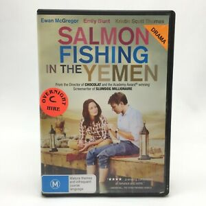 Salmon Fishing In The Yemen (DVD, 2011) R4 With Emily Blunt In Good Condition