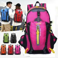 40L Outdoor Mountaineering Waterproof Nylon Travel Luggage Rucksack Backpack Bag