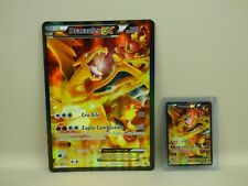CARTES POKEMON DRACAUFEU EX PV 180 XY121 promo grande carte + normale NEUVE