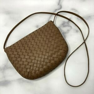 BOTTEGA VENETA Shoulder bag Beige Brown Leather Italy