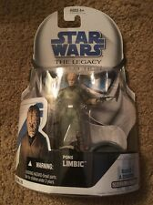 STAR WARS LEGACY COLLECTION BLUE CARD #BD 35 CANTINA ALIEN PONS LIMBIC FIGURE