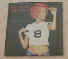 RARE CD SINGLE PROMO 1 TITRES OPHELIE WINTER JE MARCHE A L'ENVERS NEUF
