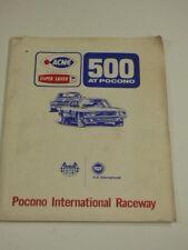 1974 Pocono ACME Super Saver 500 Media Folder