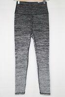 Aerie American Eagle High Rise Legging Full Length Activewear Black Fade 0491