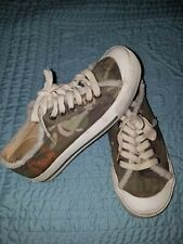 💥ROXY Princeton Sherpa Womens  Lace-ups Surf Sneakers • Size 7 • Camo Shoes