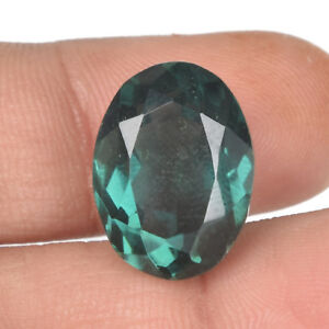 Ring Size Green Amethyst 30.50 Ct Oval Cut Faceted Gemstone For Jewelry BS-698