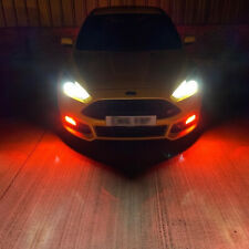 Ford Focus ST Acrylic Fog Light Protectors / Clear + Colours Available