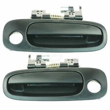 Front Outside Exterior Textured Door Handle Pair Set for 98-02 Corolla