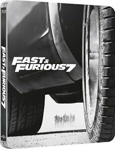 Fast & Furious 7 Limited Edition Steelbook Blu-ray UK Exclusivce NEW SEALED