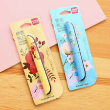 Portable Floral Stainless Steel Scissors Office Tool Scrapbook Handwork Foldable