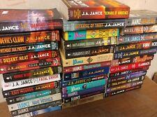 Lot of 10 J A Jance-Mysteries-Joanna Brady-Ali Reynolds-Thrillers PB MIX Books