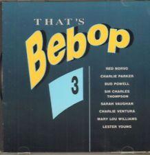 Various Jazz(CD Album)That's Bebop 3-All That's Jazz-ATJCD 11-Netherlan-