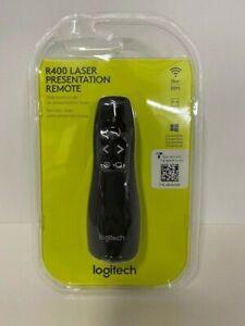 Logitech R400 Laser Presentation Remote 50ft USB Windows Compatible - New