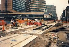 PHOTO  METRO CONSTRUCTION 1991 PICCADILLY GARDENS TRIANGLE 1