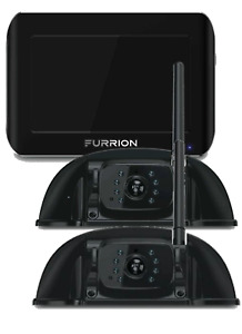 """2 x FURRION Vision S Rear-Vision Cameras with 1 x 7"""" Display - digital wireless."""