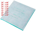 Paint Spray Booth Intake Filter - Dry Tack Panel (7 Size Available), Series 45