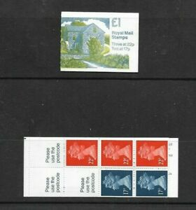 GB 1991 Mills #4 Folded £1 Stamp Booklet - FH 22