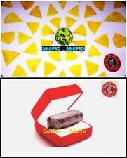 2x CHIPOTLE USA GUACAMOLE & NACHO CHIPS DIAMOND CASE COLLECTIBLE GIFT CARD LOT