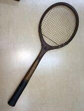 Rare Cortland Antique Tennis Racquet.