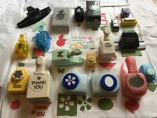 Huge Lot 19 Scrapbooking & Card Making Paper Punches-Stampin Up Ek Marvy & More
