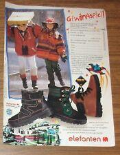 Rare Publicité LEGO SYSTEM SPACE 6991 Monorail Transport éléphants PROMO 1994