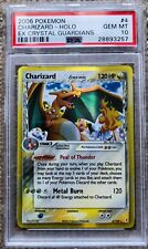 2006 Pokemon Holo EX Crystal Guardians Charizard 4/100 PSA 10 GEM MINT