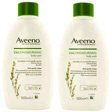 3 for of 2 Aveeno Daily Moisturising Body Wash 500ml