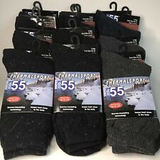 Thermal Sport Socks 12 Pair MB55 SZ 10-13 Excell Thermal Insulating Technology