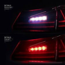 Fit For Lexus IS250/IS350 2006-2012 Tail lights LED Red Lens Rear Light Assembly