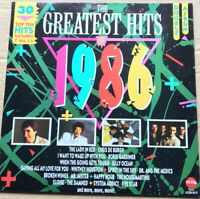 Greatest Hits Of 1986, Various Artists, Original Vinyl 1986 Star 2286