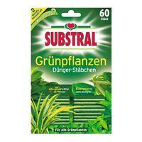 Substral Dünger-Stäbchen für Grünpflanzen 60 Stück - Sticks Düngesticks Pflanzen